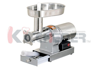 1 / 3 HP  #5 Large Electric Meat Grinder With Stuffed Accessory W / 3 Plate Stuffing Tube